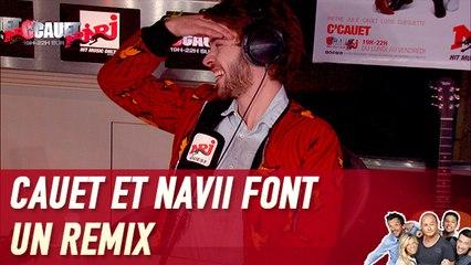 """Cauet et Navii font un remix de """"J'écoute du Miles Davis"""" - C'Cauet sur NRJ"""