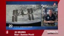 Environnement: le cri d'alarme de Tim Peake en direct de l'espace - Zapping du 10 février