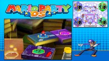 Mario Party DS - Story Mode - Part 48 - Kameks Library (2/2) (Waluigi) [NDS]