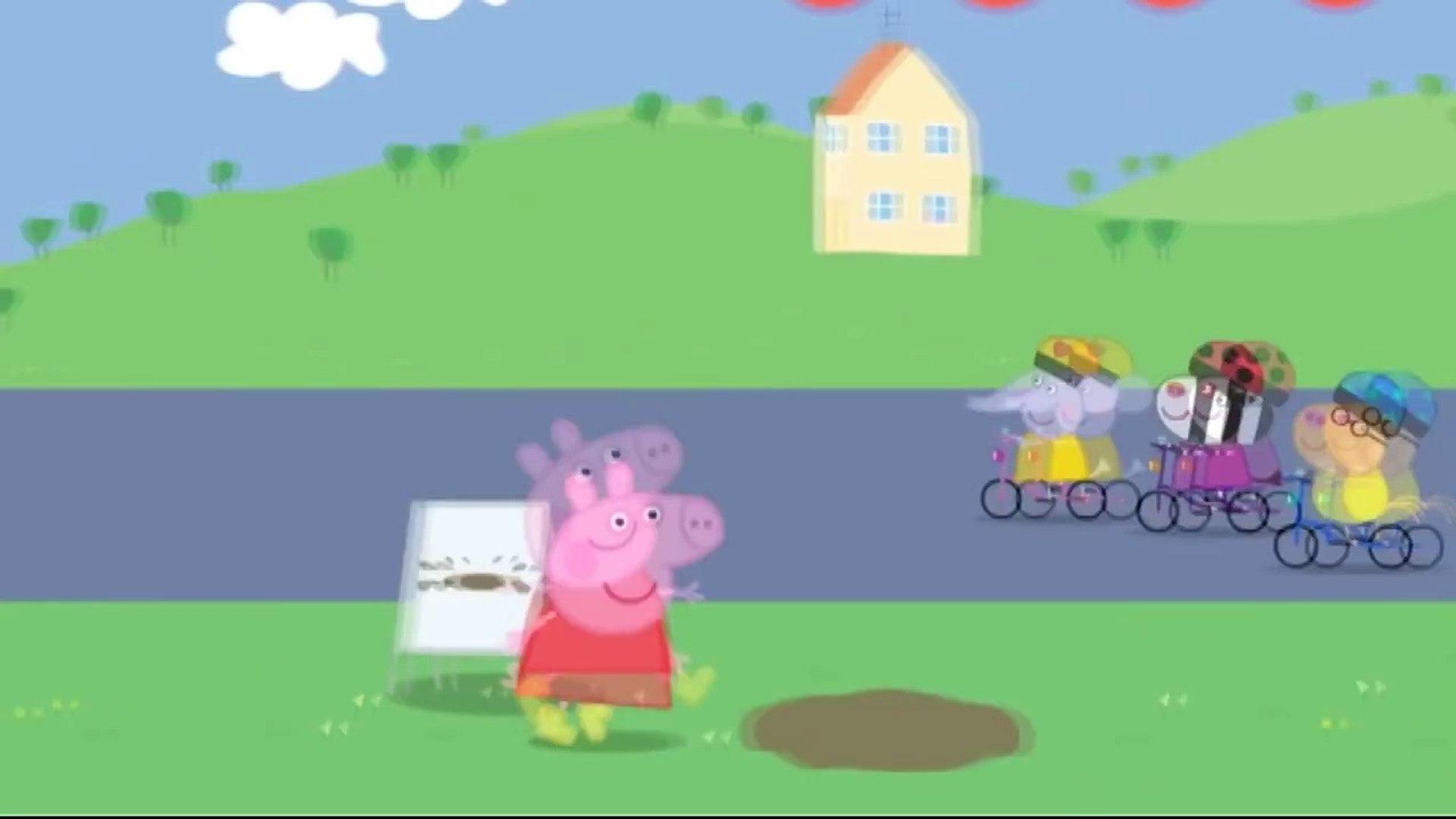 Свинка Пеппа прыгает по лужам Свинка Пеппа