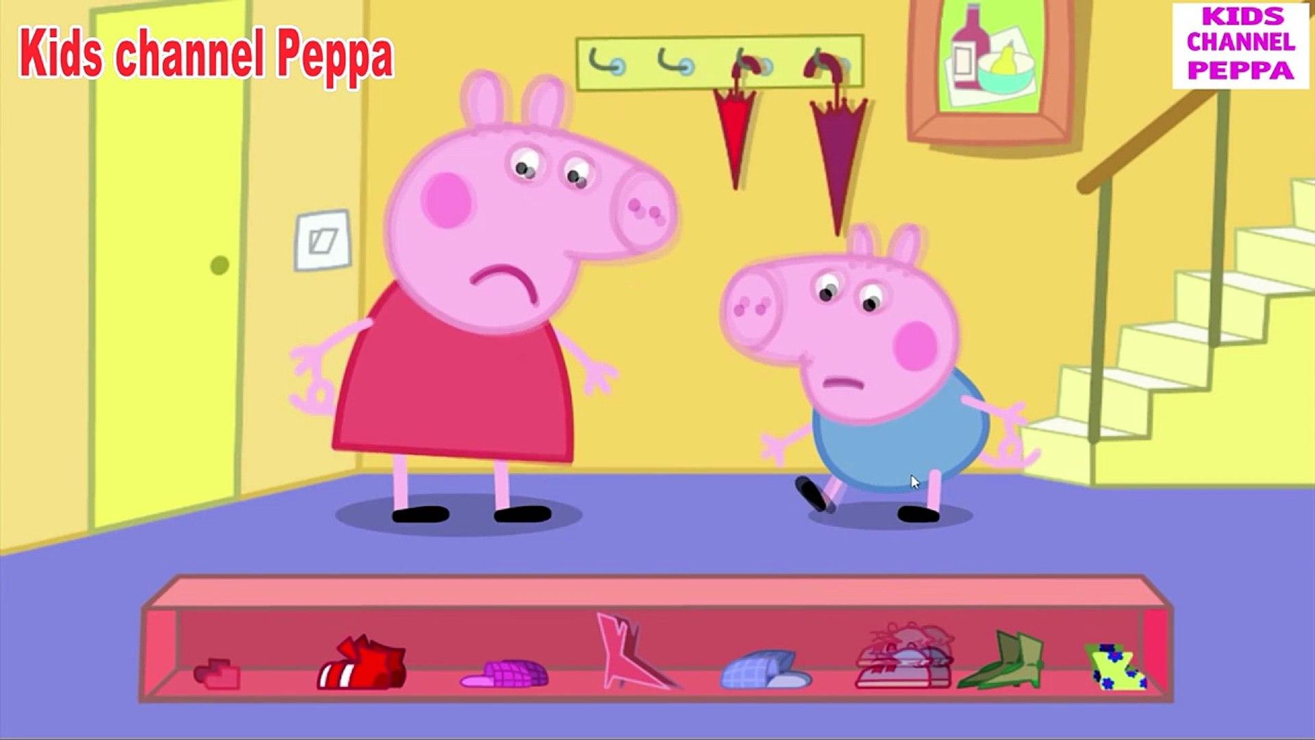 Свинка Пеппа - Лужи - Peppa Pig