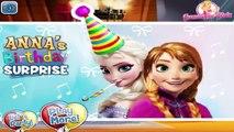 Disney Frozen Games Episodes - Anna Birthday Surprise - Baby Videos For Kids HD