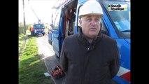 VIDEO. Saint-Romain-sur-Cher (41) : réparation des réseaux électriques après la tempête