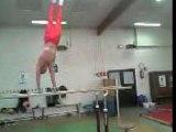 gymnastique échauffement barres parallèles