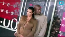 Kim Kardashian Shows Off Post-Baby Body at Kanye West's Album Release Party