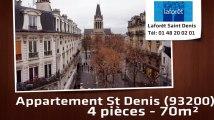 A vendre - Appartement - St Denis (93200) - 4 pièces - 70m²