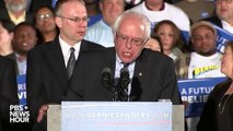 Sanders: We have sent a message that will echo from Wall Street to Washington