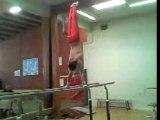 gymnastique barres paralleles diamidov