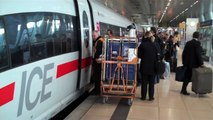 [HD] German ICE high speed trains at Frankfurt Airport