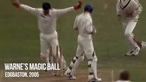 Shane Warne's magic ball to Andrew Strauss - Edgbaston 2005 - Greatest Ashes Moments