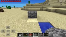 How To Make A TNT Cannon in MCPE - Minecraft PE Tutorial - {[TNT Cannon]}