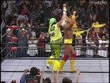 Ric Flair, Hulk Hogan, Randy Savage close WCW Monday Nitro 12.02.1996