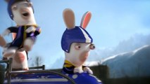 КРОЛИКИ КРЕТИНЫ. Бобслей. RABBITS NERDS. Bobsleigh. 兔NERDS。有舵雪橇。