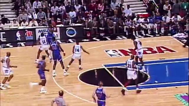 NEWS NBA Magic Johnson's last All-Star Game (FULL HD)