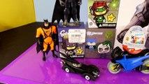 Batman Arkham Asylum Armored Statue Unboxing + DC Comics Toys Surprise Packs + Kinder Surprise Egg