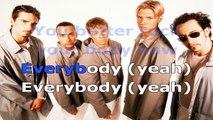 Backstreet Boys - Everybody - karaoke lyrics