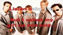 Backstreet Boys - The call - karaoke lyrics