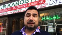 Pakistani guy gives free food in Washington DC In his restaurant Near White House