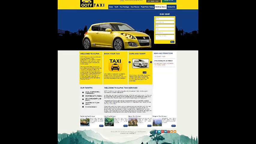 Ooty Taxi services   Ooty Taxi Booking   Taxi in Ooty