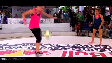 Female Freestyle Football Skills 2014-2015   HD