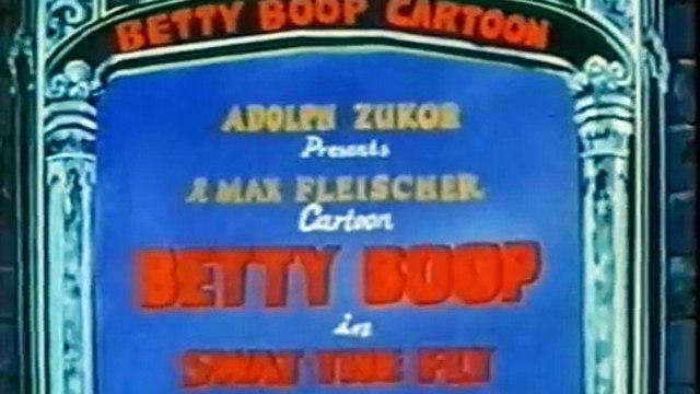 Betty Boop cartoon SWAT THE FLY US 1935 Colorised