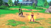 Dragonball Xenoverse Combos Ultimate Attacks Gameplay Ultimate & SSJ2 Gohan & SSJ Vegito