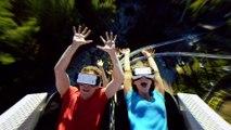 Le parc d'attraction Six Flags invente les premières montagnes russes en réalité virtuelle