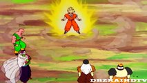 DBZ Kai-Goku Turns Super Saiyan Infront The Androids (1080p HD)