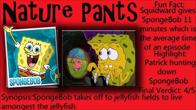 SpongeBob Squarepants Season #1 Episodes #17&18 Review
