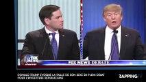 Donald Trump évoque la taille de son sexe en plein débat pour l'investiture républicaine (vidéo)