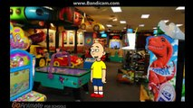 Caillou goes to chuck e cheeses while grounded and gets grounded