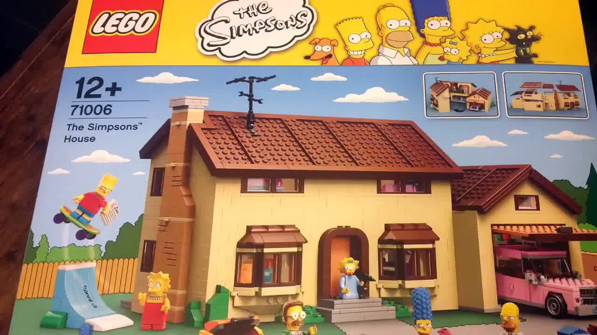 The Simpsons House LEGO 71006 The Simpsons STICKER SHEET