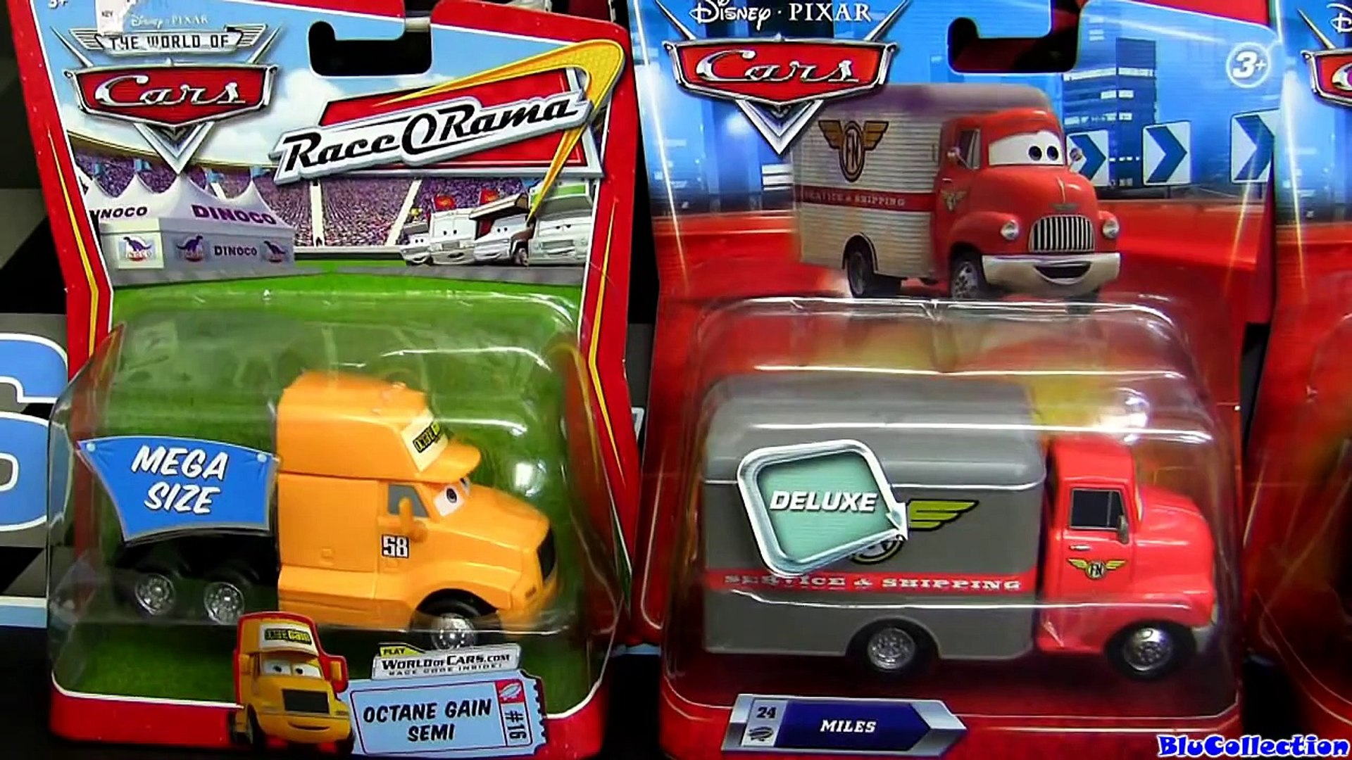 Disney Cars Elvis Presley RV AND Miles Leroy Traffik with Snow Tires Diecasts car-toys review