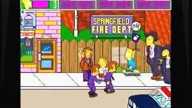 Lets Play The Simpsons Arcade: Episode 1: Im Bart Simpson, Who The Hell Are You?