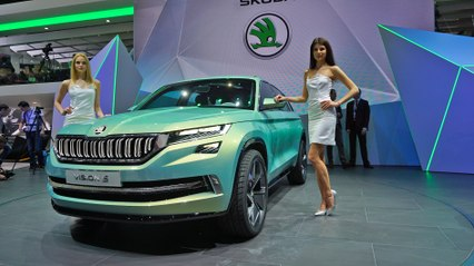 Skoda VisionS and others at the Geneva Auto Show 2016 | ATMO | On Location  | Motor Show | Car Show