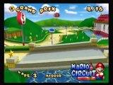 Mario Kart Double Dash!! - All Cup Tour: Mario Circuit (Mirror) (8/16)