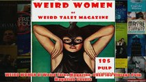 Download PDF  WEIRD WOMEN Of Weird Tales Magazine OVER 185 Vintage Pulp Magazine Covers FULL FREE
