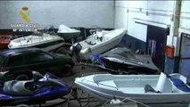 Incautan 917 kilos de hachís a importante red de narcotráfico de Algeciras