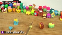 Whats Inside Shopkins? Cut Open + Surprise Toys! Science Lab Fun by HobbyKidsTV