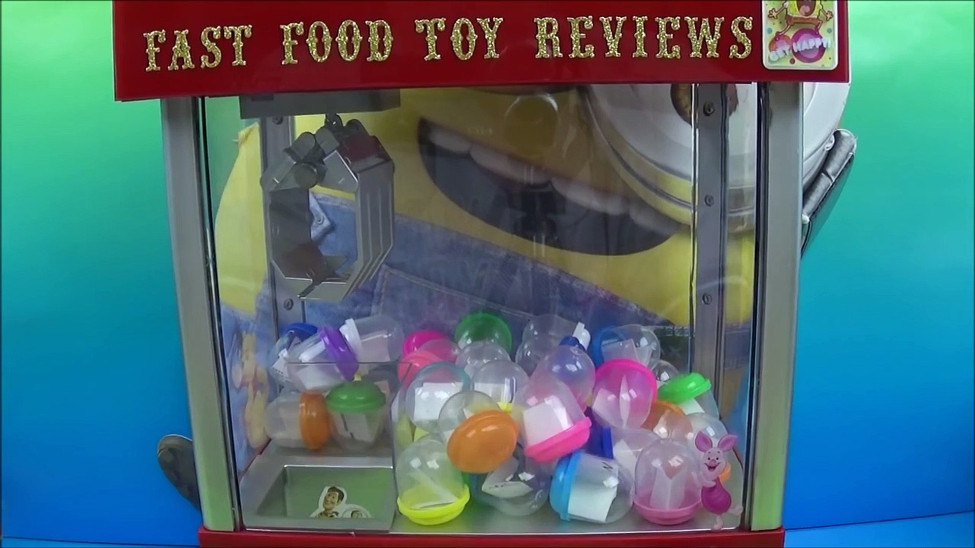 The Mystery Claw Machine By Fastfoodtoyreviews Episode 1 Video