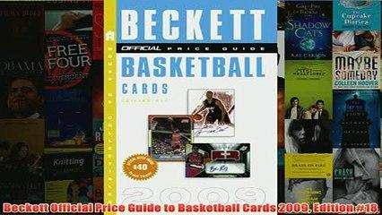 Beckett Hockey Card Price Guide /& Alphabetical Checklist