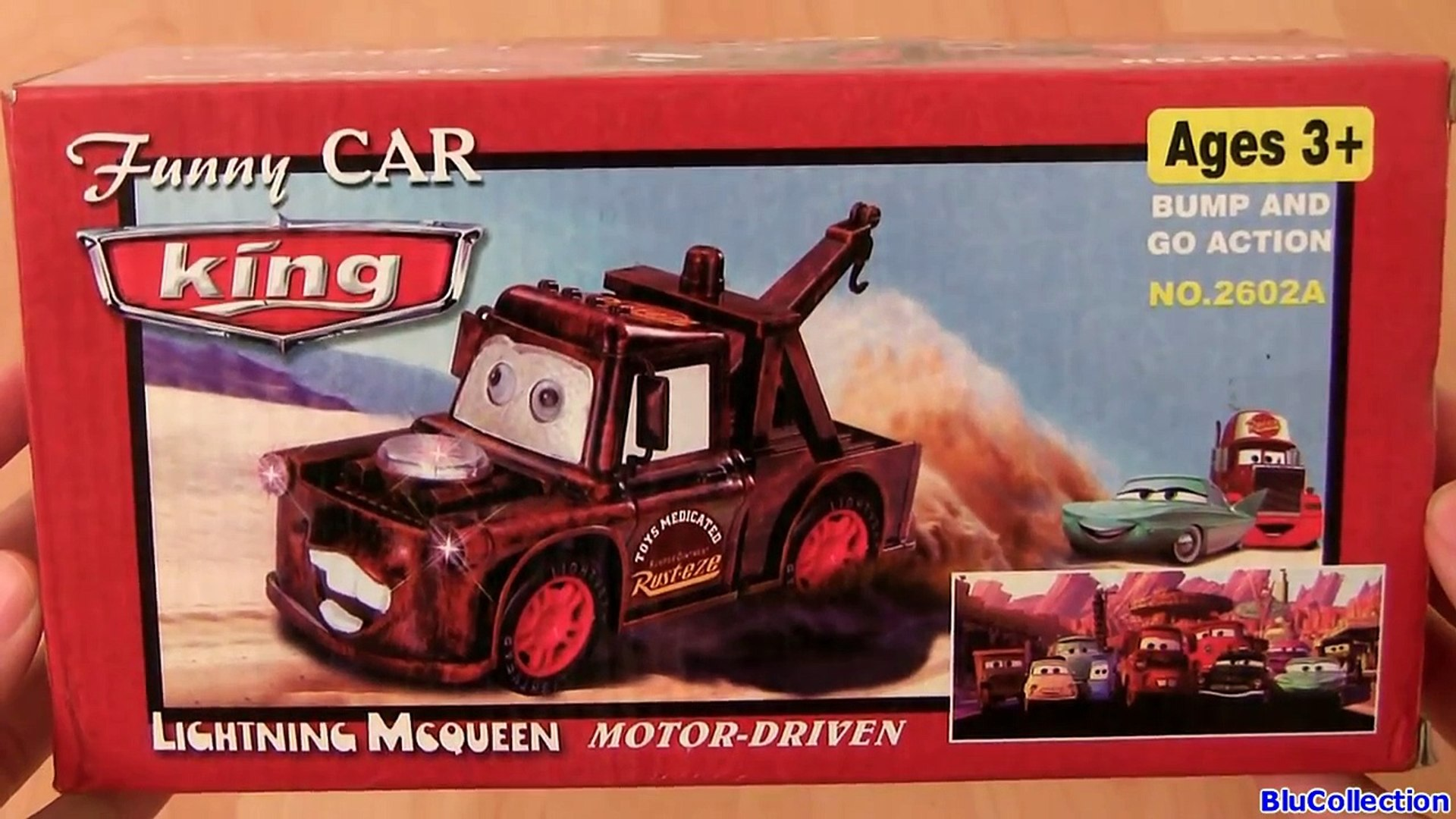 Fail Fake Cars 2 Funny Car King Mater Fail Knock Off Toys Disney Pixar From China 反斗車王2 Video Dailymotion