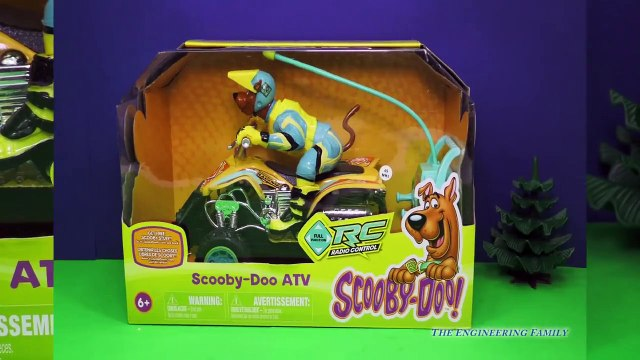 SCOOBY DOO Cartoon Scooby Doo ATV a Scooby Doo Video Toy Review