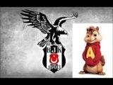 Alvin ve Sincaplar Beşiktaş Marşı Gücüne Güç Katmaya Geldik