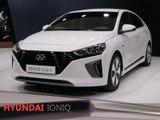 Hyundai Ioniq en direct du salon de Genève 2016
