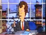 Beavis and Butthead as David Letterman and Paul Shaffer