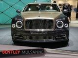 Bentley Mulsanne en direct du salon de Genève 2016
