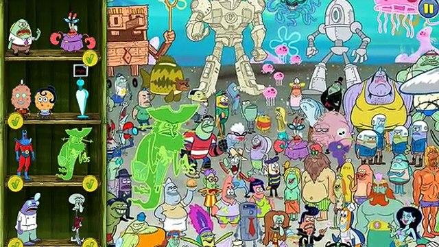 Spongebob Squarepants Game - The Ultimate Bikini Bottom Buddy Search (Krabs, Patrick!)