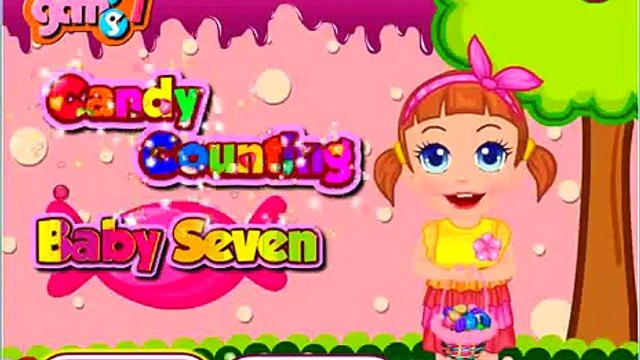Baby Seven Candy Counting Education Video for Kids Play Game find which candy is the most