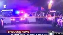 Los Angeles : Un bébé tué par une balle perdue, les tireurs recherchés !